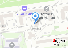 Компания «Родной» на карте