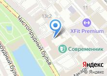 Компания «Пежо Ситроен Рус» на карте