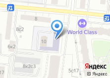 Компания «Такси Москва» на карте