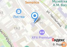 Компания «AT» на карте