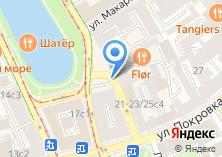 Компания «Автостоянка на Покровке» на карте