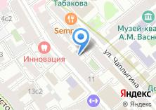 Компания «Беседка» на карте