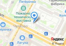 Компания «Овация» на карте