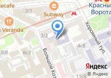 Компания «Федерация Баскетбола города Москвы» на карте