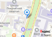 Компания «Московская социальная гарантия» на карте