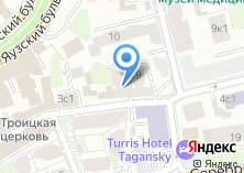 Компания «В Серебряниках» на карте