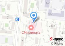 Компания «Новофарм» на карте