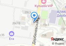 Компания «КБ Банк Расчетов и Сбережений» на карте