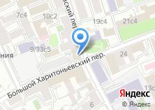 Компания «Представительство Правительства Омской области при Правительстве РФ» на карте