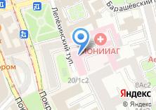 Компания «Московский областной НИИ акушерства и гинекологии» на карте