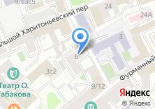 Компания «Нотариус Воробьёва О.А.» на карте