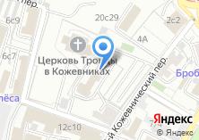 Компания «Международный научно-учебный центр информационной безопасности» на карте