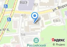 Компания «Федеральная служба государственной регистрации кадастра и картографии РФ» на карте