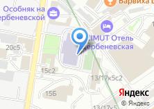 Компания «Лицей №1553» на карте