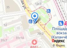 Компания «Салон цветов на Каланчёвской» на карте