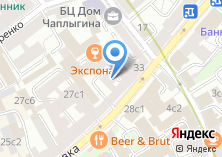 Компания «ББР банк» на карте