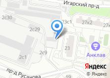 Компания «Псковская дверная фабрика» на карте