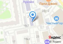 Компания «Астра-Консалт» на карте
