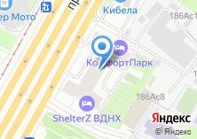 Компания «Kandy» на карте