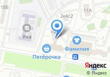 Компания «Магазин овощей и фруктов на ул. Молодцова» на карте
