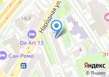 Компания «МАДО» на карте