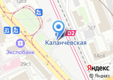 Компания «Москва-Каланчевская» на карте