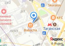 Компания «Мастерская по ремонту обуви и изготовлению ключей на Нижней Радищевской» на карте