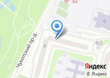 Компания «Ателье по пошиву одежды и штор на Чукотском проезде» на карте