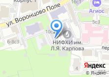 Компания «НИФХИ» на карте