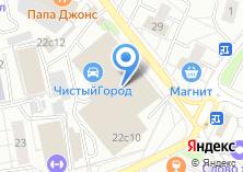 Компания «ИВСП» на карте