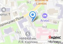 Компания «Университетская» на карте