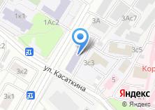 Компания «Шиномонтажная мастерская на ул. Касаткина» на карте