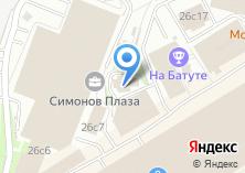 Компания «Храм Рождества Пресвятой Богородицы в Старом Симонове» на карте