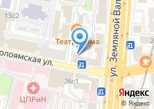 Компания «Lamoda» на карте