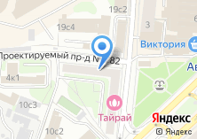 Компания «Московские кровли» на карте