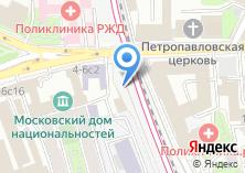 Компания «Секонд-хенд на Новой Басманной» на карте
