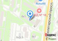 Компания «Почтовое отделение №115522» на карте