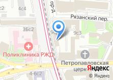 Компания «БЭТ» на карте