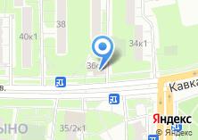 Компания «Магазин фруктов и овощей на Кавказском бульваре» на карте