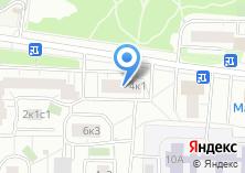 Компания «Тэско» на карте