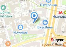 Компания «МедцентрСервис» на карте