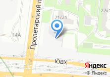 Компания «Строящееся административное здание по ул. Пролетарский проспект» на карте