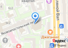 Компания «РУССТРОЙБАНК» на карте