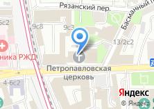 Компания «Петровская иконописная мастерская» на карте