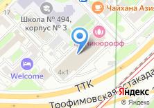 Компания «Маникюрофф» на карте
