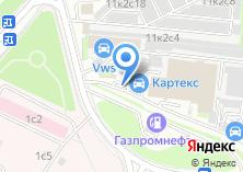 Компания «АЗС КАРТЕКС» на карте