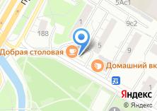Компания «Гастроном №1» на карте
