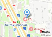 Компания «Школьник на Кантемировской» на карте