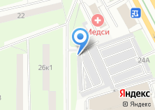 Компания «Автостоянка №11» на карте