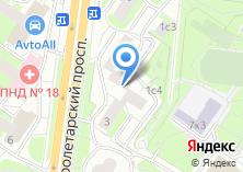 Компания «100 услуг» на карте